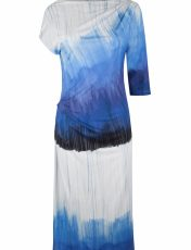 Marita Dew Blue Rain Mid Dress