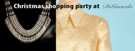 Christmas Shopping Party DiGuardo Notting Hill Vivetta Italian Fashion, Jerboa Jewellery, independent womenswear